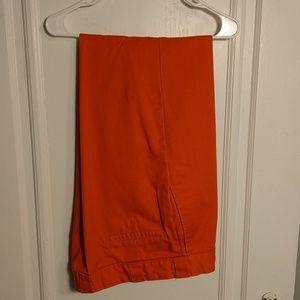 Dickies orange work pants